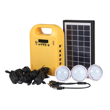 Off grid high efficiency mini solar panel energy storage system for home