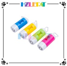 Led promotional hot sale dog poop bag dispenser