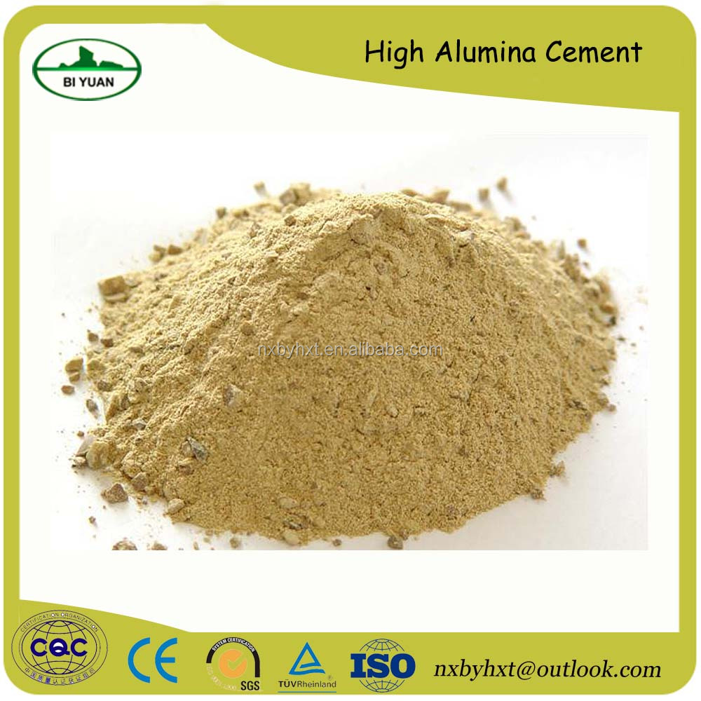High Quality Alumina Cement Refractory High Alumina Cement