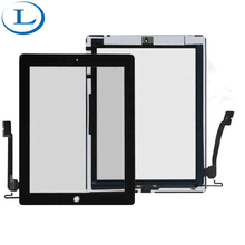 Cheaper wholesale for iPad 4 lcd screen best price accessories in part with frame hot selling repair parts