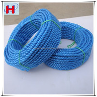 PP splitfilm rope 3 strands rope with kinds of colors and sizes