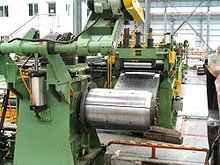 steel coil metal sheet length cutting machine manufacturer supply high speed accuracy slitting and cut to length line