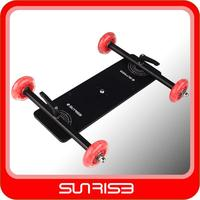 Sunrise DS-503 Pro Dolly DSLR video dolly track,Camera Floor Slider Track Table Car Video For Canon 5D2 60 7D