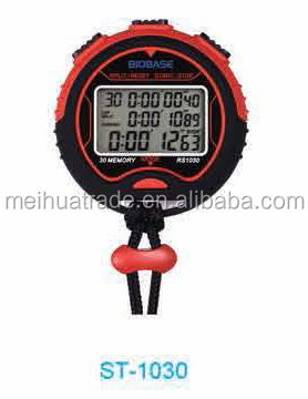 12 or 24 Hour Time LCD Display Stop Timer/Watch/Pacer with China Factory Cheap Price