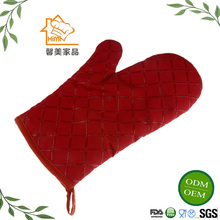 HIMI Manufacturer Microwave Oven Non-slip Mitt Heat Resistant Silicone Gloves Kitchen Cooking Baking BBQ Gloves