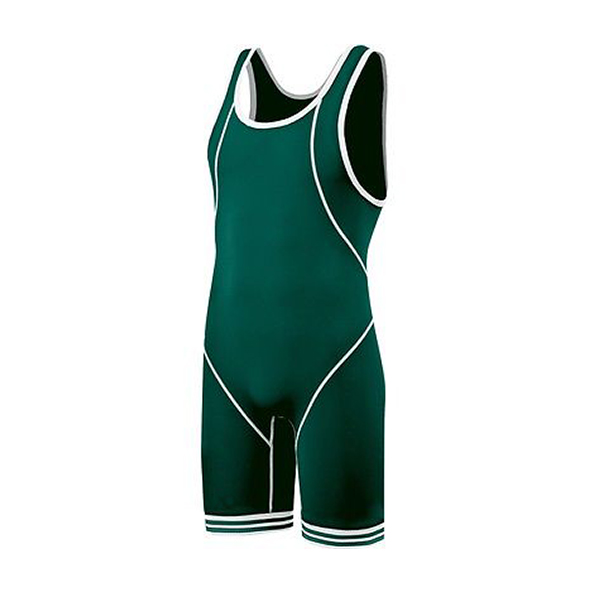 Wholesale custom colorful sublimation blank wrestling singlets