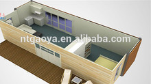 New product 2017 40 feet container house with CE certificate