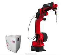 automatic Fiber Laser robotic welding machine with 6 axes for welding and cutting