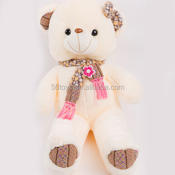 factory OEM 100% pp cotton king size teddy bear 180 cm