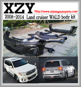 land cruiser wald body kit,wald bodykits for LC200/FJ200 land cruiser 2008-2013