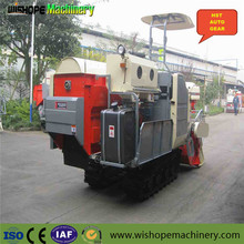 Small Agricultural Rice Machine Copy Kubota Combine Crawler Tractor Harvester With Price In India