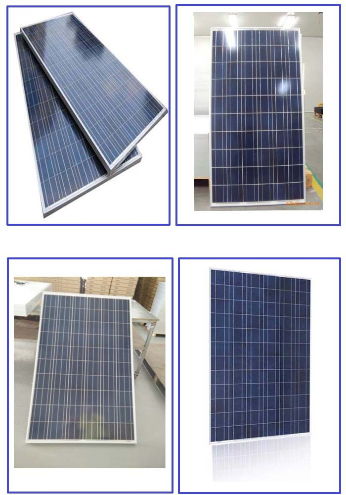 high effiency 5BB poly crystalline 260watt photovoltaic solar panel --factory direct sales