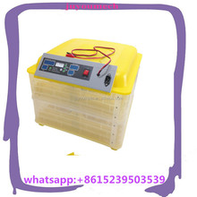 electric and battery automatic 96pcs poultry egg incubator for sale