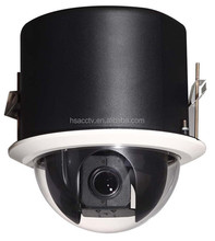18X Optical Zoom H.264 Outdoor Mega Pixel 1080P IP Embeded High speed dome camera without IR