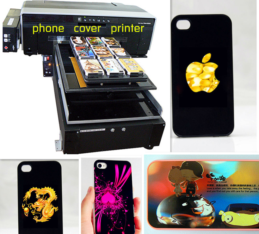 factory supply digital flatbed eco solvent / UV / DTG printer /Iphone case printer