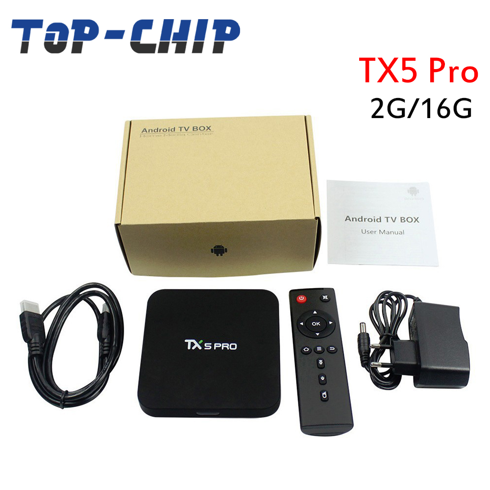 Android 6.0 Smart tv box TX5 pro 2GB 16GB quad core BT 4.0 TX5 pro smart tv box android sex porn tv box