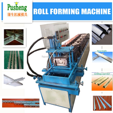 sheet profile steel W shape metal ceiling wall angle roll forming machine T-GRID cold roll forming machine