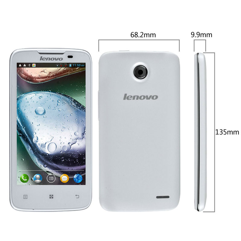 Lenovo A820 Quad Core Smart Phone Android 4.1 MTK6589 4.5 Inch 8.0MP Camera