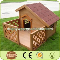New Recyclable WPC Outdoor Pet House For Dogs