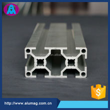 Best selling 40mm * 80mm t slot extruded aluminum 6061 t6 price