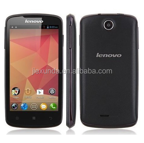 Original Lenovo A630 4.5 Android 4.0 Dual sim MTK6577 Dual Core 1GHz CPU 4GB ROM 3G smartphone in stock