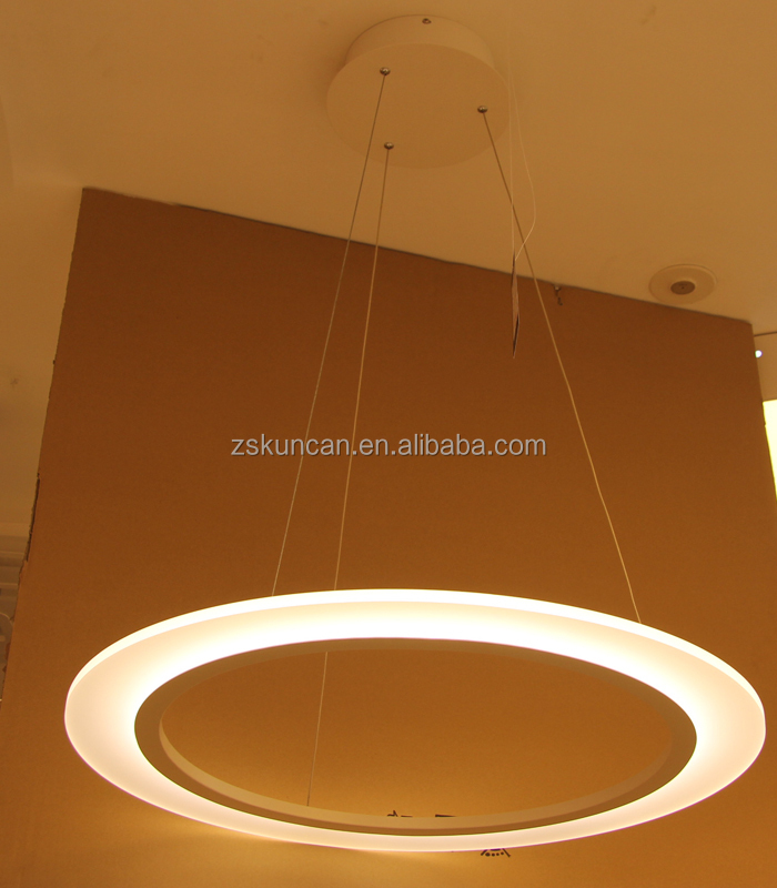 Round Circle Led Strip Chandelier Lights China Whole