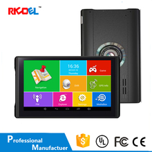 7 inch Handheld Car Gps Navigation with Wireless Rearview Camera Black Box Dvr Device for Car