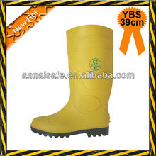 YBS PVC rain boots non-safety pvc boot