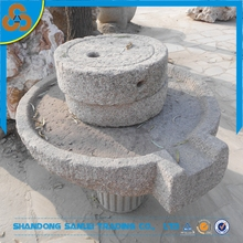 Chinese antique granite millstone for sales