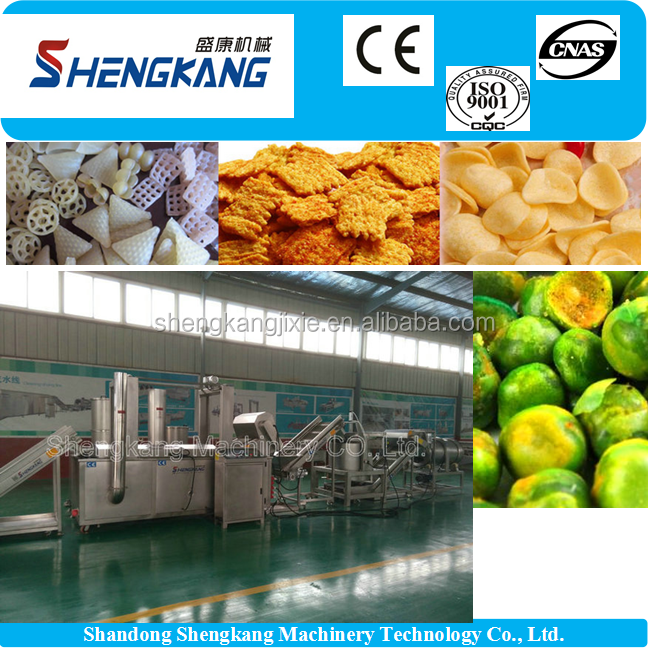 Most Cheap corn snack 3D pellet snacks making machine