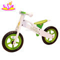 Wholesale cheap mini balance wooden kids bike without pedals W16C073