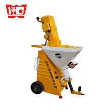 2017 new wall putty gypsum spray plastering machine