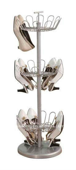 Yulong Home 3-Tier Revolving Metal Shoe Tree