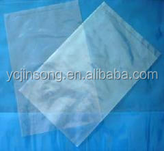Transparent PE/PP/PO Plastic Packing small flat paper bag