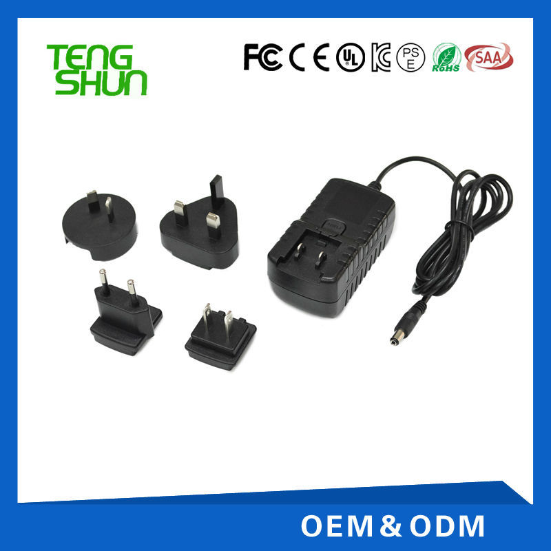 5v2a 6v2a 9v1.2a 12v1a ac/dc power universal adapter