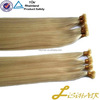 Full cuticle keratin remy prebonded hair extensions for nano tip hair extensions