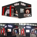 Detian offer wooden booth wood stand trade show booth ideas expo stands