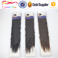corn perm long curly wave artificial hair extensions beauty hair salon bonds ponytail accessories for women