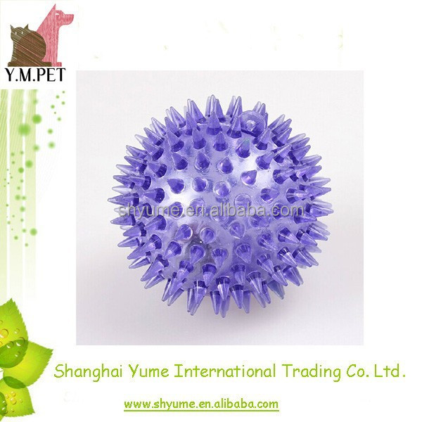 Squeaky Ball Dog Toys Spiky Ball