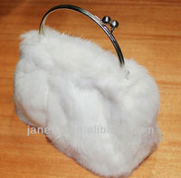 Brand designer handbags,fox fur bags