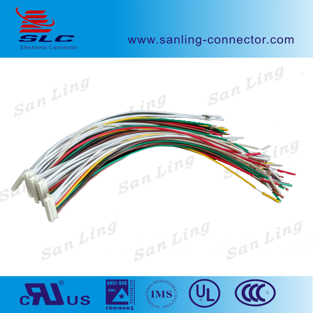1.25mm pitch 11pin wire harness cable housing connector