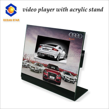 2015 Hot Sale Acrylic Video Stand