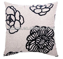 Plain color polyester cotton customized digital sublimation printing cushion pillow case