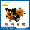 mobile bricks machinery with diesel engine M7MI Youju machinery group