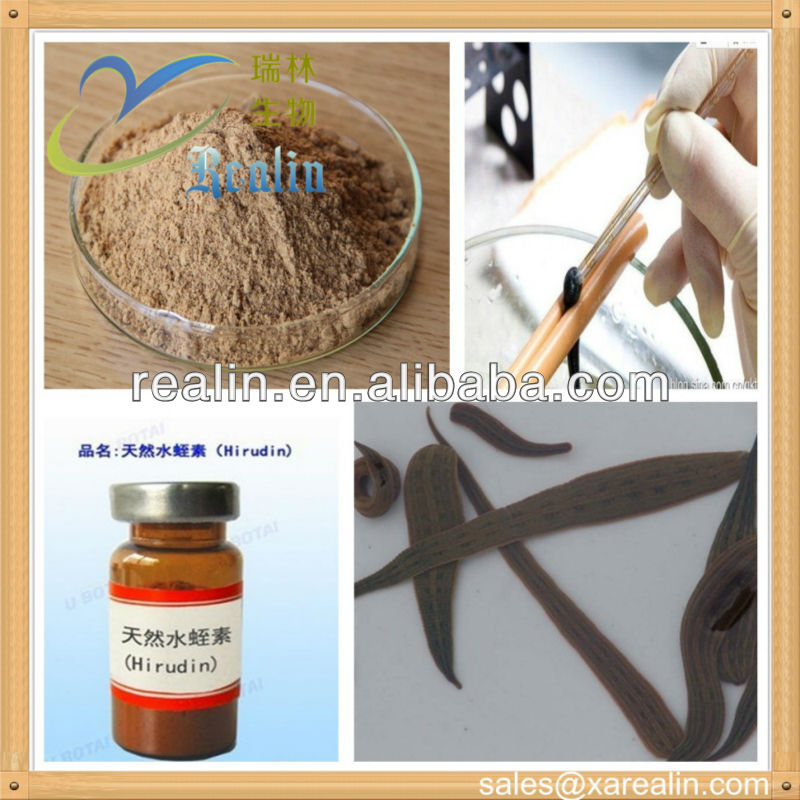 800IU/g Hirudin Powder Hirudo Extract/EFH Animal Extract
