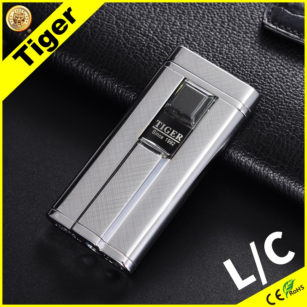 Automatic Tiger Lighter 896 D-01 Cheap Jet Butane Lighter Parts