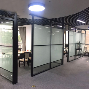 glass wall dividers office glass partition modern glass wall divider office tempered half partition china glass dividers dividers manufacturers and