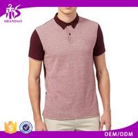 2016 Guangzhou Shandao New Manufacturers Casual 210g 100% Cotton Short Sleeve Custom Made Man Clothing