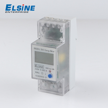 Elsine DDS238-2 ZN/S single phase din rail type multi-function energy meter