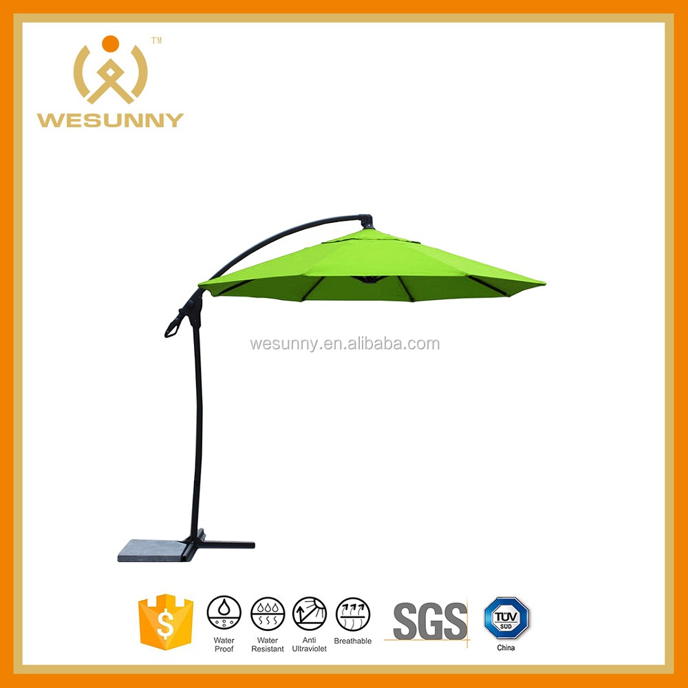 Dia 3m big Roma parasol with Aluminum Column And Frame